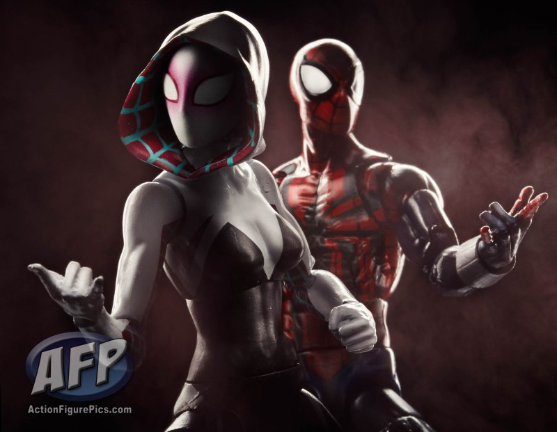 SDCC 2015 Hasbro Spider-Man Marvel Legends - Gwen Ben