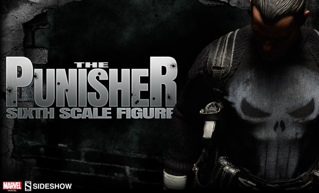 SDCC 2015 Sideshow Collectibles Marvel Punisher Sixth Scale Preview