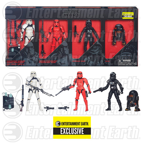 Star Wars The Black Series Imperial Forces 6-Inch Action Figures - Entertainment Earth Exclusive - Free Shipping