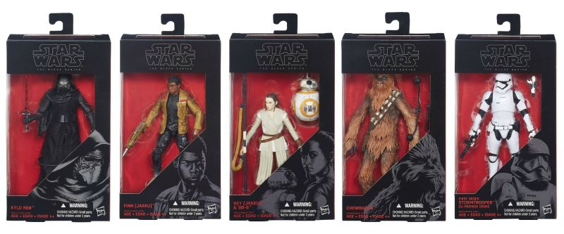 Star Wars The Force Awakens Black Series
