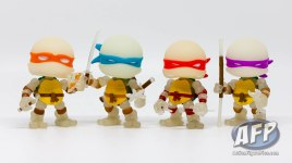 The Loyal Subjects - Teenage Mutant Ninja Turtles Action Vinyls - Radioactive exclusive 2