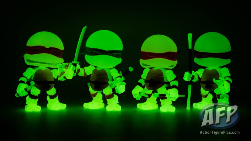 The Loyal Subjects - Teenage Mutant Ninja Turtles Action Vinyls - Radioactive exclusive 3