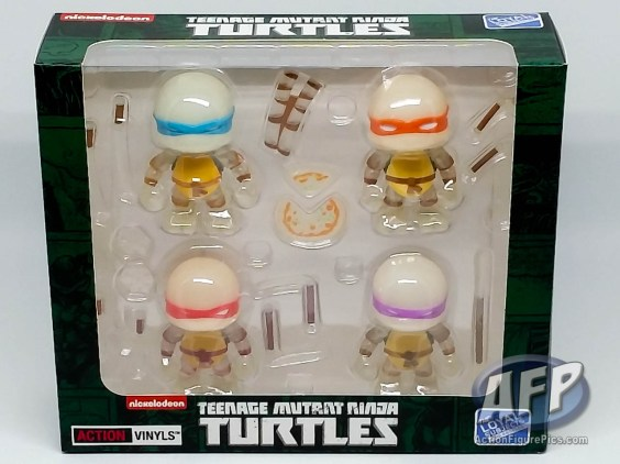 The Loyal Subjects - Teenage Mutant Ninja Turtles Action Vinyls - Radioactive exclusive - packaging (1 of 2)