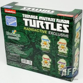 The Loyal Subjects - Teenage Mutant Ninja Turtles Action Vinyls - Radioactive exclusive - packaging (2 of 2)