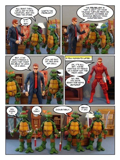 Daredevil - Gangsters and Ninjas and Turtles Oh My - page 13