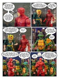 Daredevil - Gangsters and Ninjas and Turtles Oh My - page 17