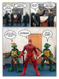 Daredevil - Gangsters and Ninjas and Turtles Oh My - page 18