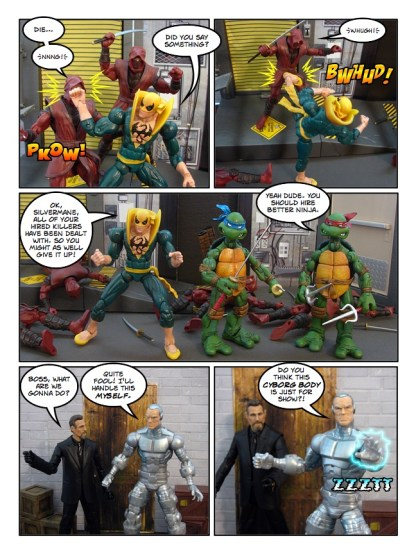 Daredevil - Gangsters and Ninjas and Turtles Oh My - page 26