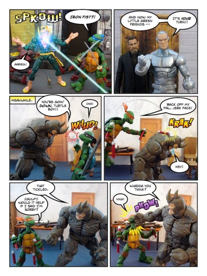 Daredevil - Gangsters and Ninjas and Turtles Oh My - page 27