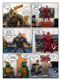 Daredevil - Gangsters and Ninjas and Turtles Oh My - page 28