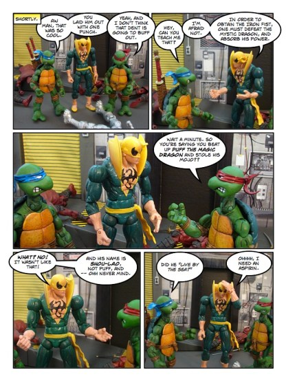 Daredevil - Gangsters and Ninjas and Turtles Oh My - page 33