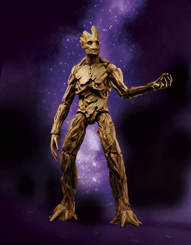 MARVEL LEGENDS GOTG EVOLUTION OF GROOT Pack ToysRUs Exc - 6-INCH Groot