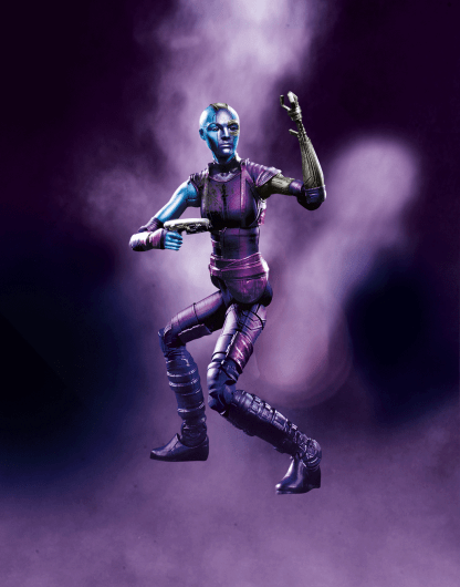 MARVEL LEGENDS SERIES 6-INCH GUARDIANS OF THE GALAXY W2 - NEBULA