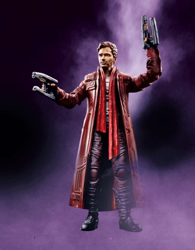 MARVEL LEGENDS SERIES 6-INCH GUARDIANS OF THE GALAXY W2 - Star-Lord
