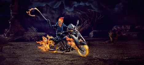 Marvel Legends Series 6-inch Ghost Rider & Motorcycle