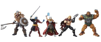 Marvel Legends Series Battle For Asgard 5-Pack - oop