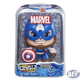 MARVEL MIGHTY MUGGS Figure Assortment - Captain America (in pkg)