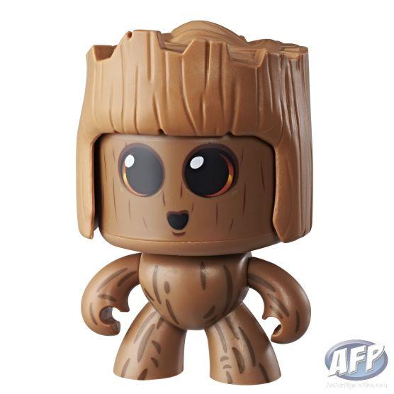 MARVEL MIGHTY MUGGS Figure Assortment - Groot (3)
