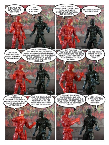 Daredevil - The Wakanda Conspiracy - page 13