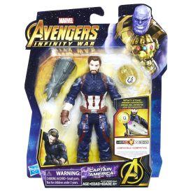 MARVEL AVENGERS INFINITY WAR 6-INCH Figure Assortment (Captain America) - in pkg