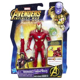 MARVEL AVENGERS INFINITY WAR 6-INCH Figure Assortment (Iron Man) - in pkg