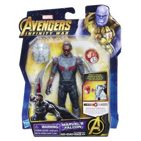 MARVEL AVENGERS INFINITY WAR 6-INCH Figure Assortment (Marvel's Falcon) - in pkg