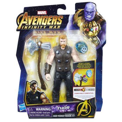 MARVEL AVENGERS INFINITY WAR 6-INCH Figure Assortment (Thor) - in pkg