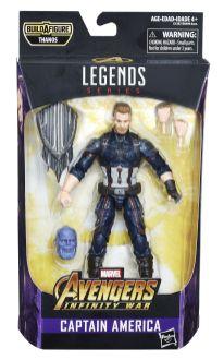 MARVEL AVENGERS INFINITY WAR LEGENDS SERIES 6-INCH Figure Assortment (Captain America) - in pkg