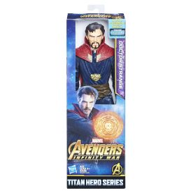 MARVEL AVENGERS INFINITY WAR TITAN HERO 12-INCH Figures (Doctor Strange) - in pkg