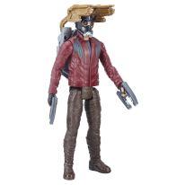 MARVEL AVENGERS INFINITY WAR TITAN HERO 12-INCH POWER FX Figures (Star-Lord) - oop