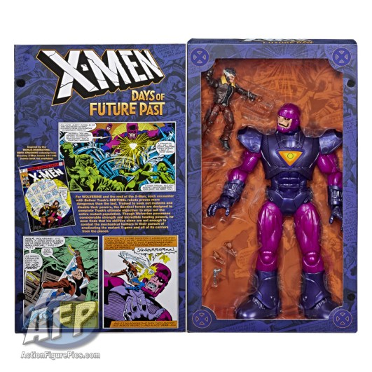 MARVEL DAYS OF FUTURE PAST LEGENDS SERIES EXCLUSIVE (Sentinel and Wolverine) - in pkg2