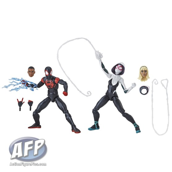 MARVEL SPIDER-MAN INTO THE SPIDER-VERSE LEGENDS SERIES 2-PACK (Miles Morales and Spider-Gwen)