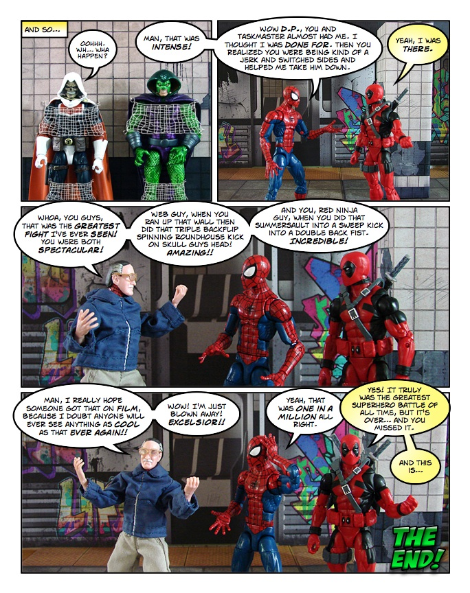 The Amazing Spider-Man (and Deadpool) - The Spider and the Merc - page 39
