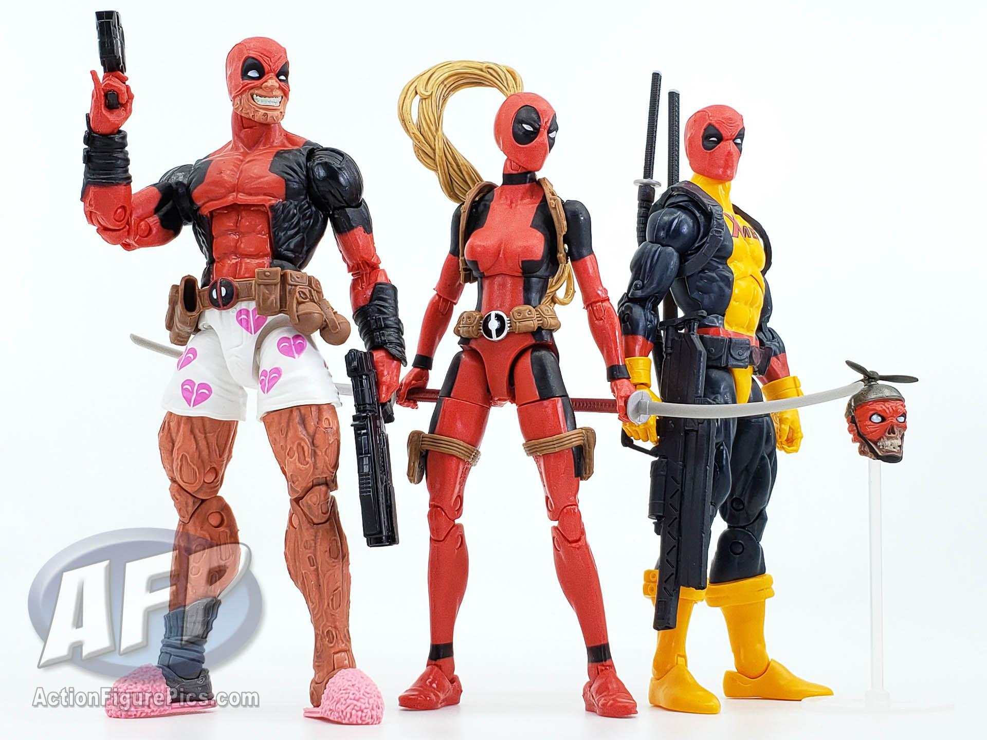 Marvel Legends X-Men Deadpool Madcap Wave 2 6-Inch Figure