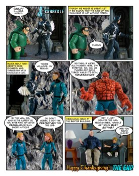 Fantastic Four - Thanksgiving Special - page 32