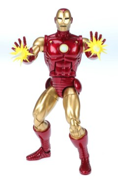 Marvel 80th Anniversary Legends Series Iron Man Figure oop