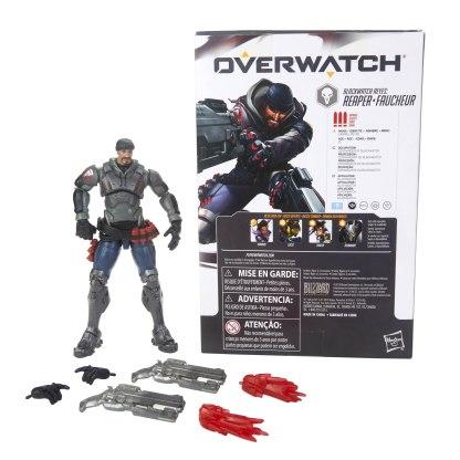 OVERWATCH ULTIMATES SERIES 6-INCH Figure Assortment - Blackwatch Reyes oop (3) & pckging