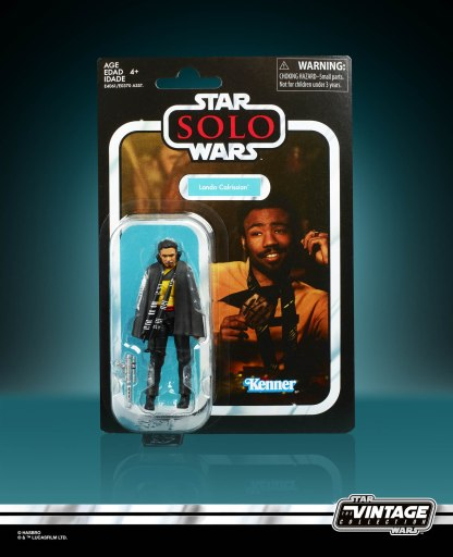 Star Wars The Vintage Collection Lando Calrissian in pck
