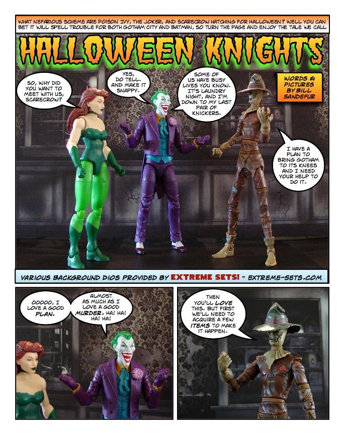 Batman – Halloween Knights! – Bill's Comics