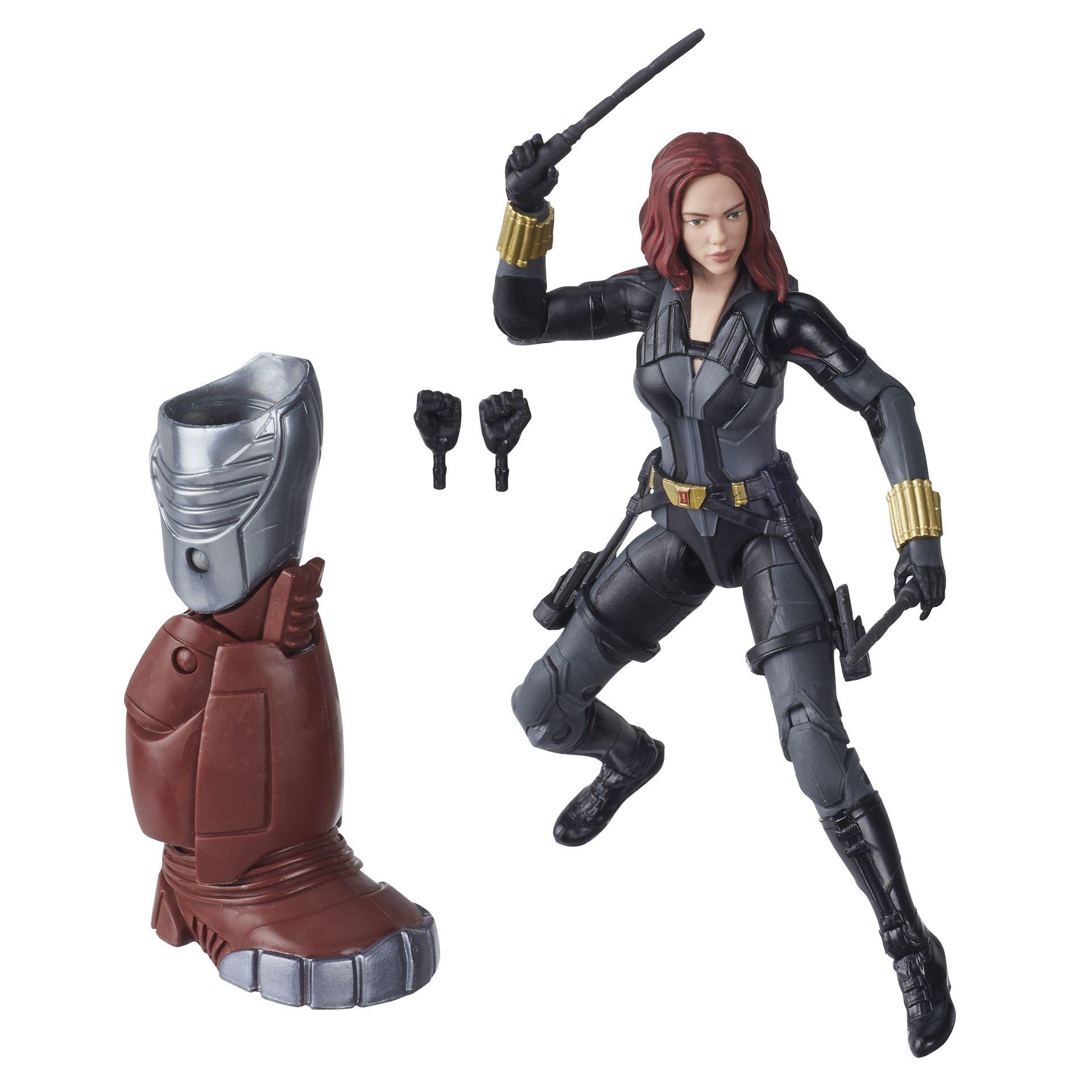 Hasbro Reveals Marvel Legends Black Widow Series for Spring '20