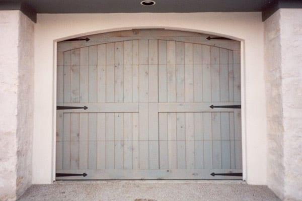 Wood Garage Door Repair  Install Dallas TX  Action