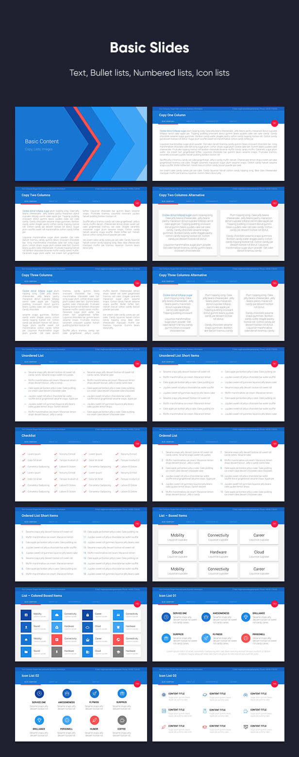 Material PowerPoint Presentation Template - 15
