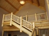 Log Railings | Action Log Homes