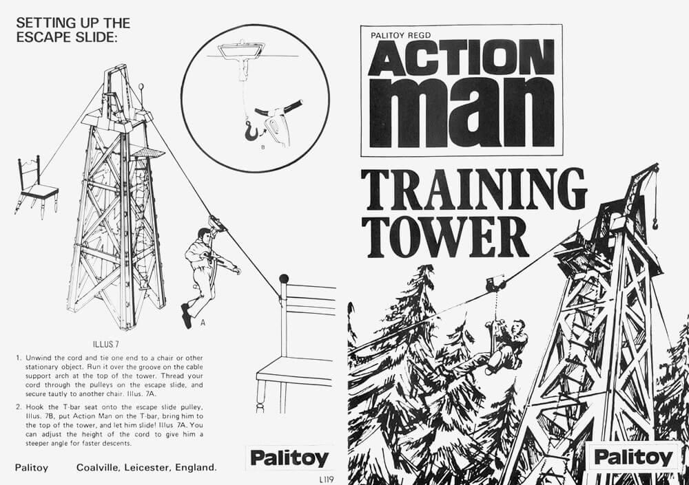 Action Man Training Tower Instructions