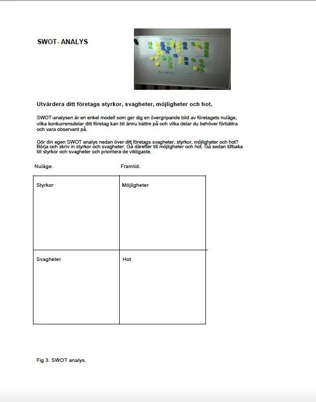Marknadsplansmall som pdf.