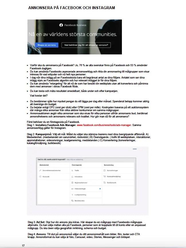 Handlingsplan digital marknadsföring som pdf.