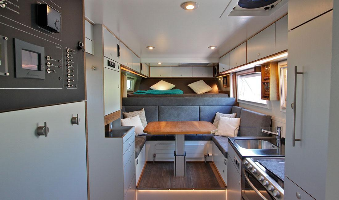 Atacama  world travelling motor homes made by Actionmobil