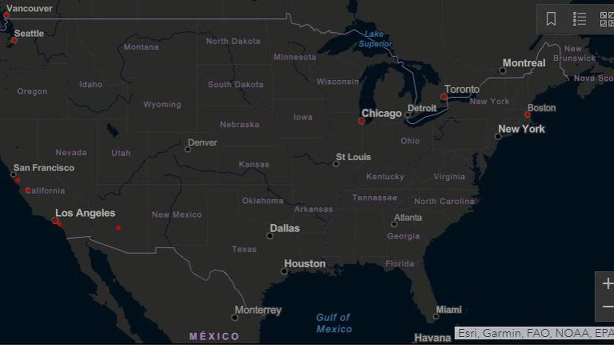 Interactive Map: Coronavirus cases around the world