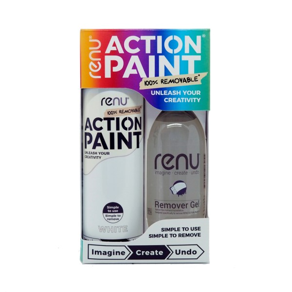 Action Paint Set - White