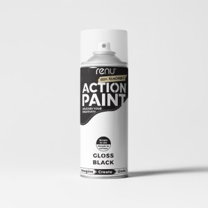 Action Paint - Black (Gloss)